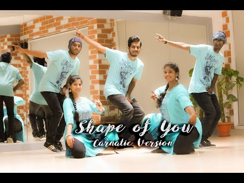 Shape Of You - Carnatic mix #TBC