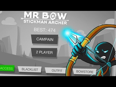 Stickman Mr Bow (Android IOS Gameplay) | Pryszard Gaming