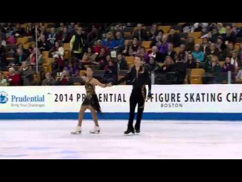 Danielle Gamelin and Alexander Gamelin, 2014 U.S. Figure Skating Championships, Free Dance