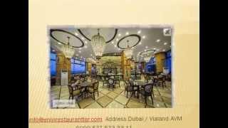 Address Dubai Restaurant, Arap Türk Yemekleri, المطبخ التركي والعربي, Turkish & Arabic Cuisine
