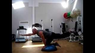 Упражнения на Bosu