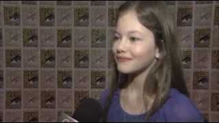 Mackenzie Foy talked to OTRC at Comic-Con