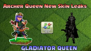 UPCOMING NEW ARCHER QUEEN SKIN LEAKS - GLADIATOR QUEEN || MAY SEASON CHALLENGES |CLASH OF CLAN 2019