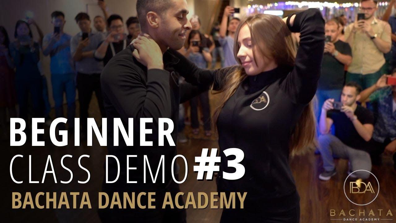 Beginner Bachata Class #3 - Demetrio & Nicole - [Tu Tu - Camilo Ft. Pedro Capo] - 2020