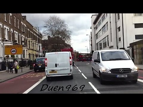 London streets (323.) - Haringey - Holloway - Kings Cross - Blackfriars