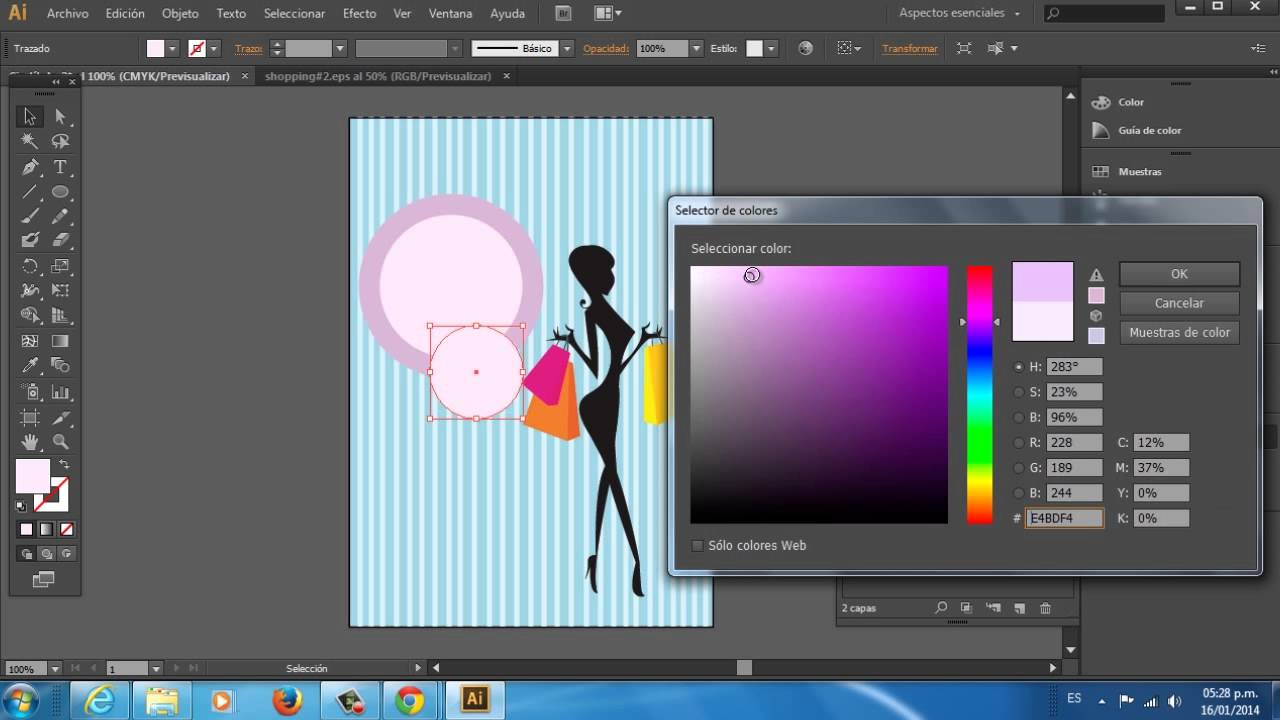 C mo dise ar un folleto creativo usando adobe illustrator for Programas de decoracion online