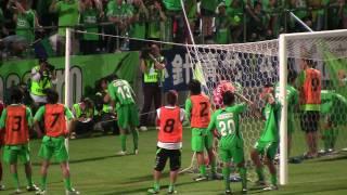 2010年7月3日 とりスタ 対V・ファーレン長崎.