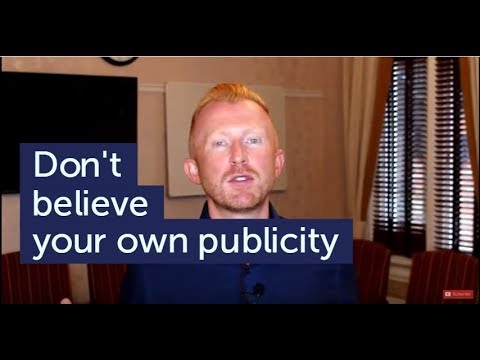 Part 1: Don't believe your own publicity | 30 Things I Learned by 30