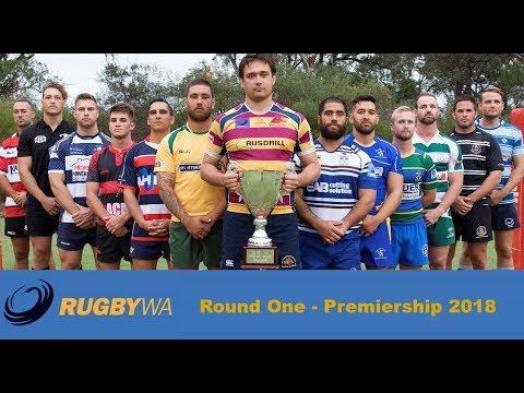 2018 Rugby WA Premiership Round 1