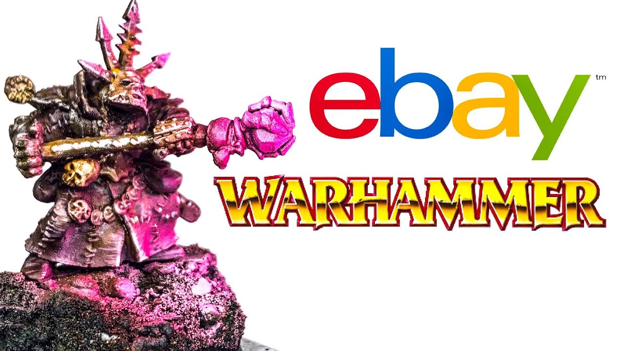 Rescuing the CHEAPEST WARHAMMER MINI on eBay