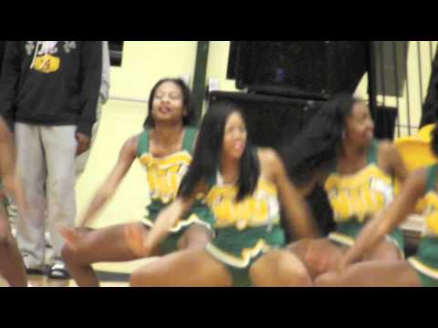 Norfolk State Cheerleaders 11/30/11