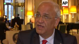 Erekat on Israeli settlements vote
