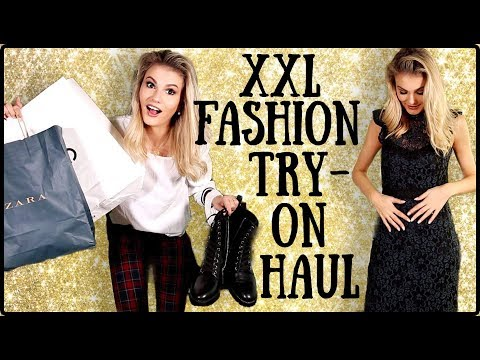XXL Fashion TRY-ON Haul & How To Style - Zara, NA-KD, Mango usw. I Cindy Jane