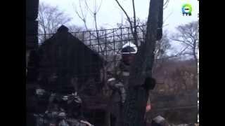 В Дунае сгорела дача, а на ул.Постникова, 20 произошло возгорание мусора
