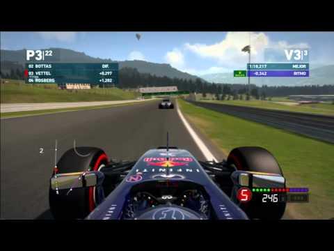 F1 2014 PS3 | Austria | Red Bull | Vettel