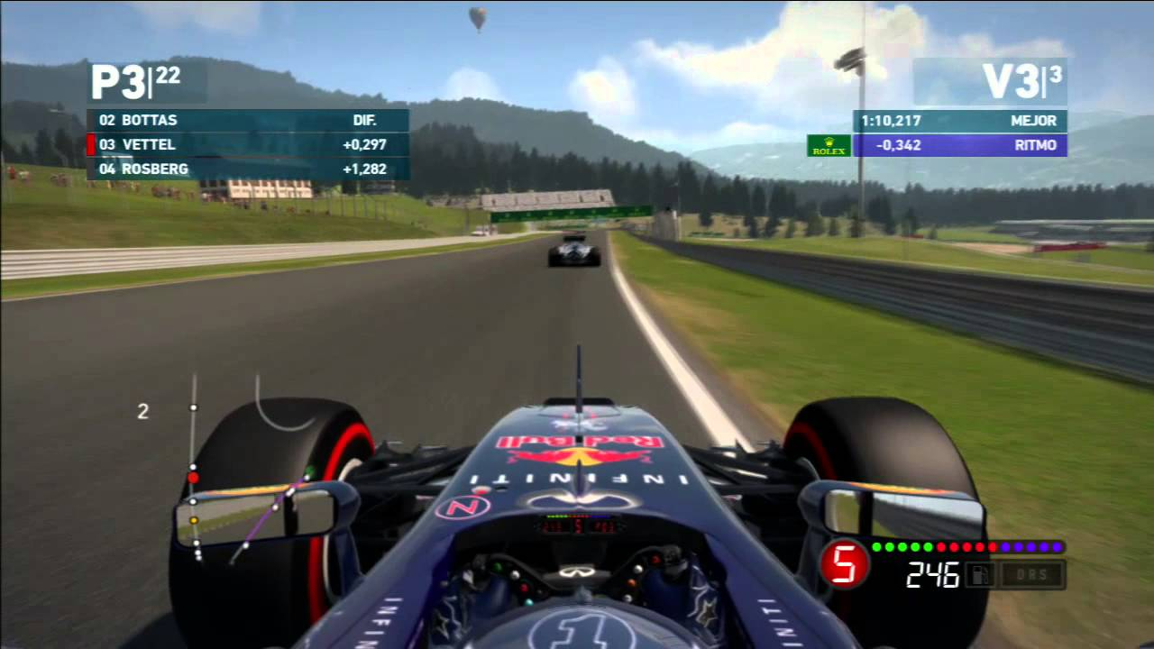 F1 2014 PS3 | Austria | Red Bull | Vettel