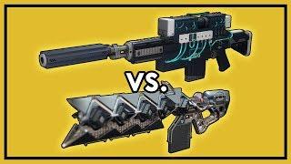 Destiny 2: D.A.R.C.I vs. Sleeper Simulant - Damage Comparison