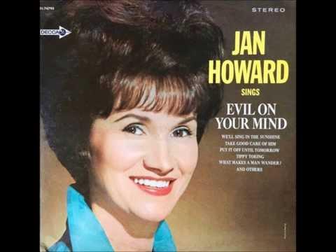 Evil On Your Mind , Jan Howard , 1966 Vinyl