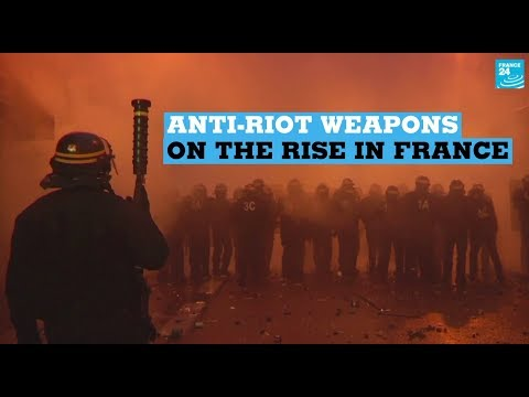 Use of anti-riot weaponry soars in France