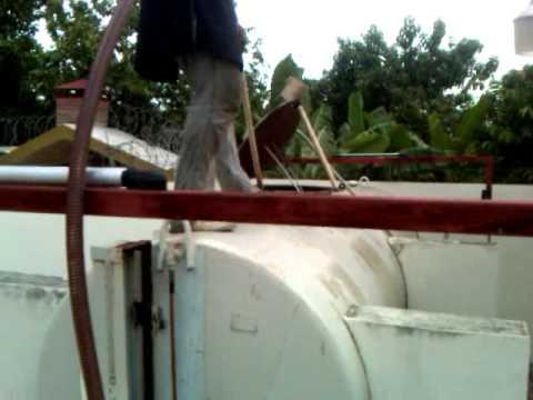 Limpieza de tanques de combustible trabjo hecho a tricom for Limpieza de tanques de combustible