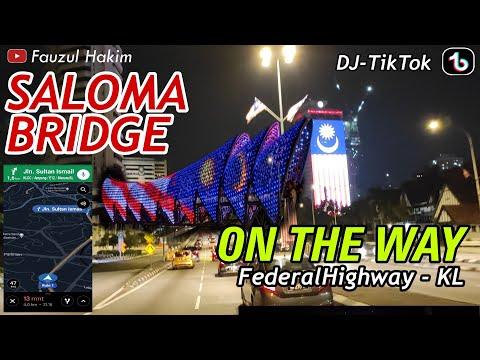 SANGAT CANTIK Suasana KUALALUMPUR | SALOMA BRIDGE | MotoVlog Explore Malaysia Cuy | DJ TIK TOK