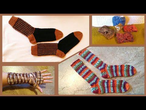 Video: Socken, Stirnbänder, Armstulpen * Julebuergerfee