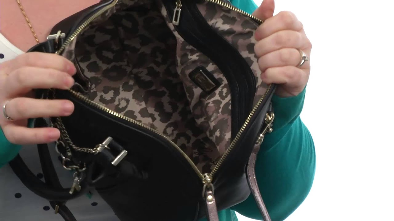 GUESS - Night Angel Amour Dome Satchel SKU 8562663 - YouTube 5fcc81110ac35