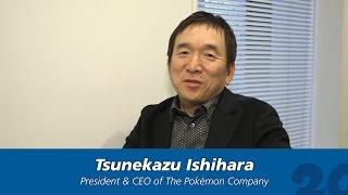 #Pokemon20: The Pokémon Company's Tsunekazu Ishihara