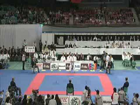 Antonio Diaz vs Luca Valdesi [FINAL WKF mundial 2008 Japon]