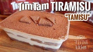 "TIM TAM TIRAMISU ""TAMISU"" | MUDAH Tanpa telur, Tanpa oven!"