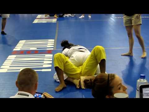 Kayla's 1st Blue Belt match