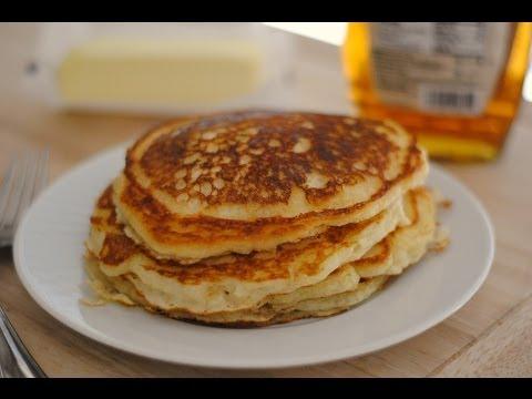 Receta Para Hacer Pancakes - Cómo Hacer Pancakes de Suero de Leche (Buttermilk) - Sweet y Salado