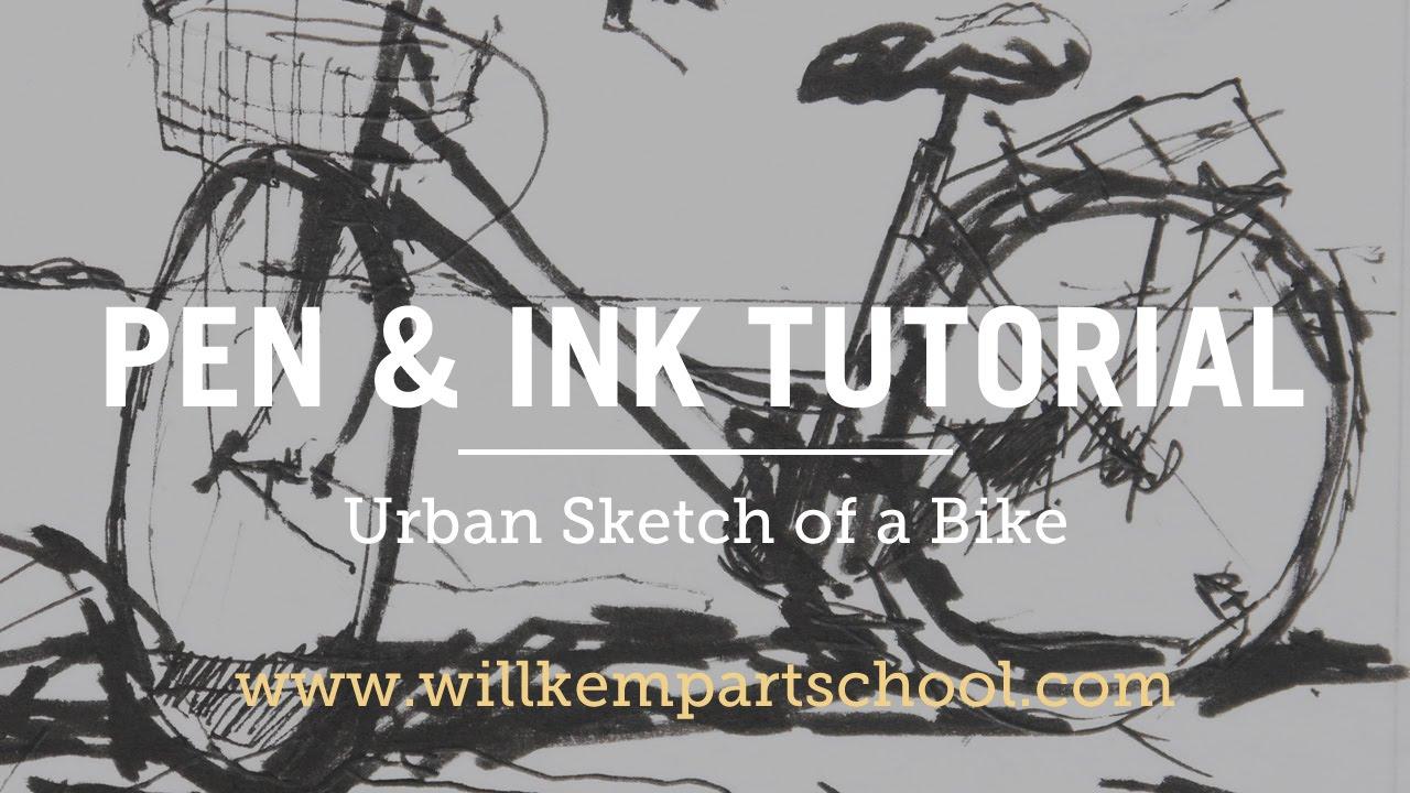 Urban Sketching Tutorial for Beginners (Free 10 minute Video