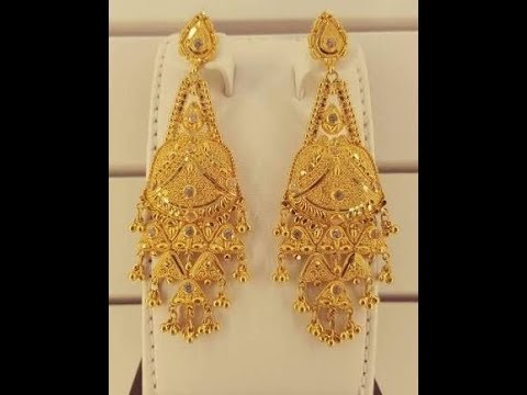 Latest Gold Pinjada Jhumka Designs With Weight