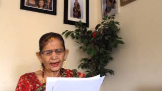 71 year old mother -Attar chetri