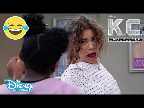K.C Undercover | Ernie VS K.C? 😱- Season 3 Sneak Peek | Official Disney Channel UK