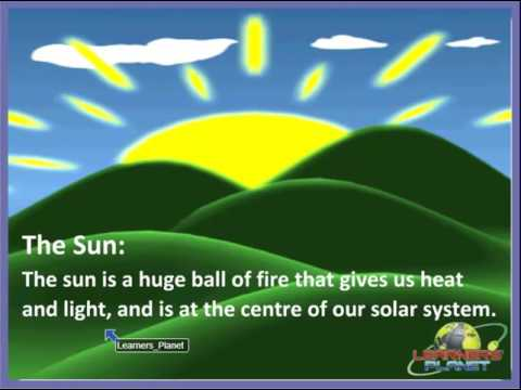 Class-4 Science The Solar System TS 1-Online science learning  for 4th class kids