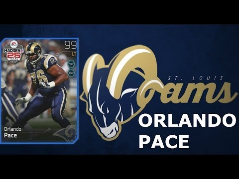 #MUT25 | ST. Louis Rams Orlando Pace Collection Completion | Best Left Tackle In MUT 25? |