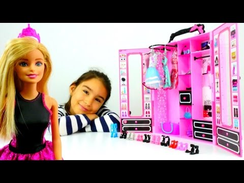 Barbie giydirme ve saç yapma oyunları. Çocuk videosu