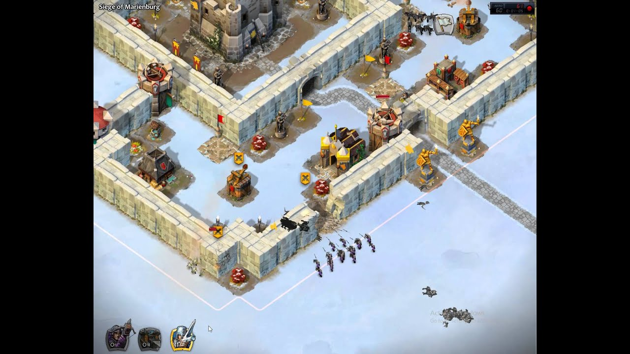 Castle siege age of empires how to beat historical challenge - Age Of Empires Castle Siege Marienburg Mission