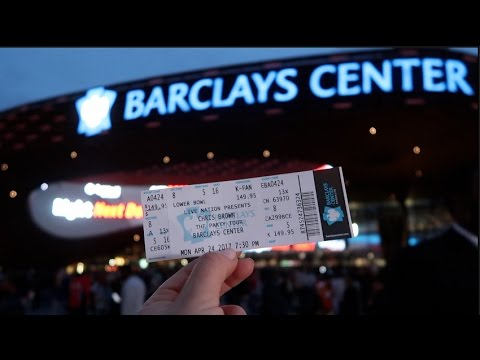 CHRIS BROWN PARTY TOUR AT BARCLAYS CENTER! | vlog