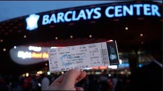 CHRIS BROWN PARTY TOUR AT BARCLAYS CENTER! | vlog