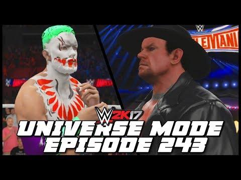 WWE 2K17 | Universe Mode - 'WRESTLEMANIA!' (PART 5) | #243