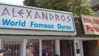 Гиро Alexandros уличная рубаловка в Торонто ням ням!