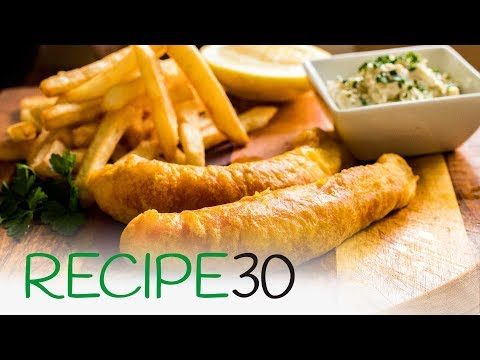 The Best Fish And Chips With Crispy Batter Simple Recipe