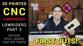 MPCNC Lowrider Часть 3 - Маршрутизатор, Испорченная Доска и Режущий Материал! Какой Купить Роутер