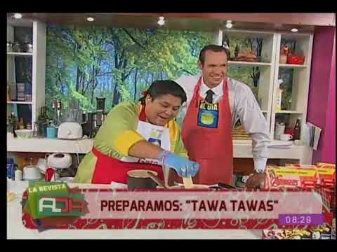Preparamos una deliciosa receta de ''tawa tawas''
