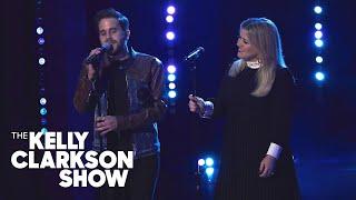 Kelly Clarkson and Ben Platt perform duet of Bob Dylan's 'Make You Feel My Love' | Full Performance