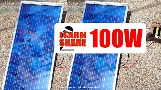 How to Build a Homemade Solar Panel from Scratch in 25min Video