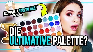OVERHYPED oder WORTH THE HYPE?! - Morphe x Jaclyn Hill Palette - Review, Swatches & Look!